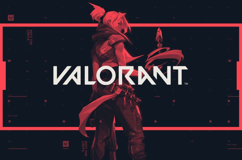 Valorant artwork by Riotgames for the fantasy shooter game.