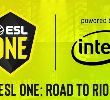 ESL One: Road to Rio official poster.
