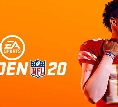 Madden NFL 20's official game cover.