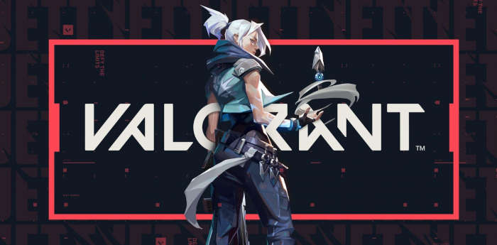 Valorant's official cover of the game by Riot Games