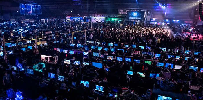 A picture from a DreamHack festival