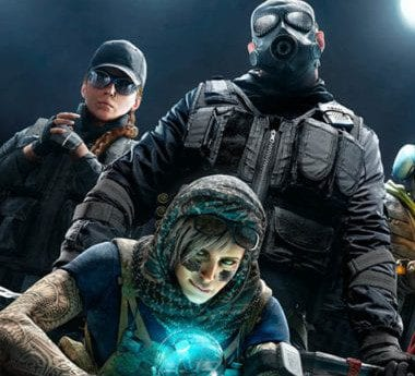 Ubisoft characters from Rainbow Six: Siege