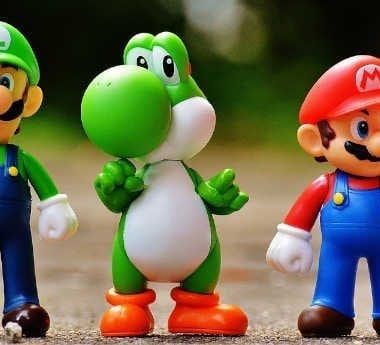 Characters from the Nintendo universe