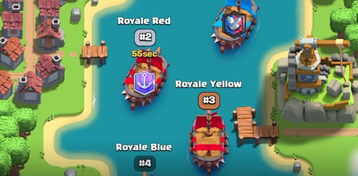 Boast in Clash Royale: Clan Wars 2.0