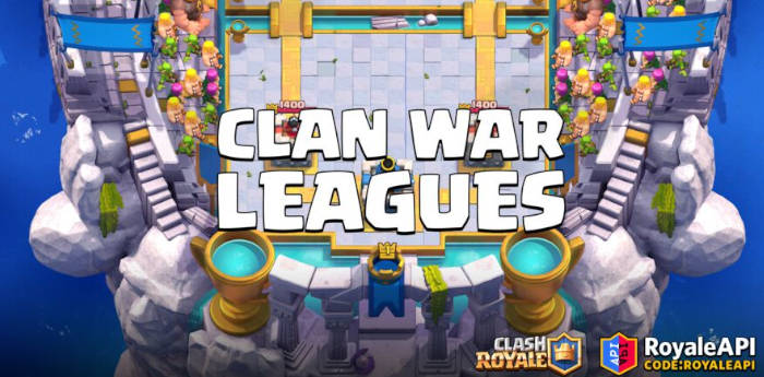 Clash Royale's Clan Wars 2.0 leagues